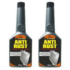 2 x CAR RADIATOR RAD COOLING SYSTEM ANTI RUST CORROSION TREATMENT ADDITIVE