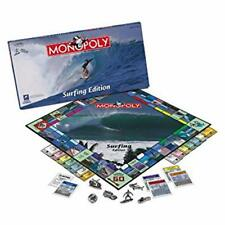 Monopoly Surfing Edition Sealed NIB USAopoly Retired Pewter Tokens 2008 Game