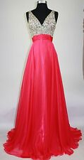 Women's Lace Long Dress Chiffon Evening Formal Party Dress Bridesmaid Prom Gown