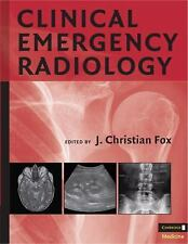 Clinical Emergency Radiology by . 0521870542 Hardcover Book. Very Good Cond.