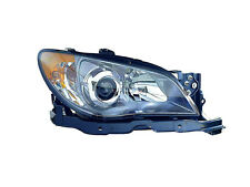 Subaru Impreza 2006 06 Hawk Eyes Head Light Lamp With Bulb Passenger Side Right