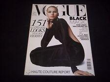 2006 SEPTEMBER DUTCH VOGUE MAGAZINE- HANNA SUBKOWA - FASHION FRONT COVER - J1721