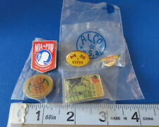 Military -  Vietnam Pin Collection - Five Different - mostly new in original pac
