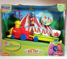 Backyardigans Bobblin Musical Circus Train Fisher Price Pablo Figure Big Top Toy
