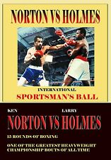 Larry Holmes & Ken Norton 1978 Championship Fight original broadcast boxing dvd