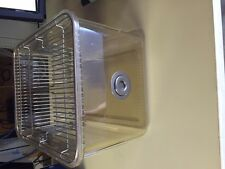 """Lab Rodent Mouse Breeding plastic cage 12"""" X 8.5"""" X 6"""""""