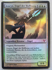 FOIL GERMAN Avacyn, Angel of Hope Magic MTG Avacyn Restored AVR Mythic FBB PIMP!