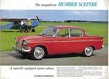 Humber Sceptre Mk I Original UK Sales Brochure Pub. No. 1024/H circa 1963