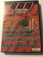 Ring of Honor Straight Shootin Brad Armstrong ROH PWG WCW NJPW WWE OOP NWA