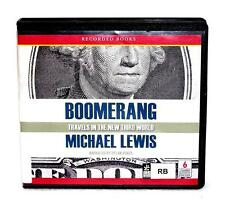 BOOK/AUDIOBOOK CD Michael Lewis Business Financial Collapse BOOMERANG