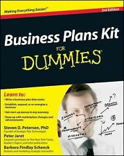 Business Plans Kit For Dummies (For Dummies (Business & Personal Finan-ExLibrary