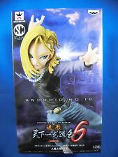 Dragon Ball Z DBZ ANDROID No.18 SCultures Figure Colosseum 6 Vol.3 Banpresto NEW