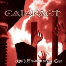 CATARACT - With Triumph Comes Loss (CD 2004) *NEW & SEALED* USA Import