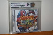 Marvel vs. Capcom (Sega Dreamcast) NEW SEALED MINT, GOLD VGA 90+! RARE GRADE!