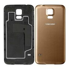 Genuine original batterie cover fits samsung galaxy S5 G900F i9600 cuivre or
