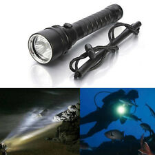 8000Lm 3x XM-L2 T6 LED Underwater 100M Scuba Diving Flashlight Torch  Lamp Light