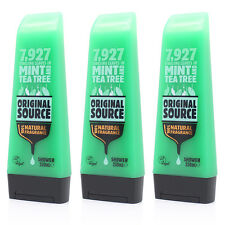 Original Source Tea Tree And Mint Shower Gel 250ml x3
