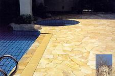 8-9mm Polygonalplatten 50 m² Naturstein Terrassenplatten Bruchplatte