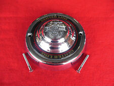"Center Line Custom Wheel Center Cap Chrome Finish 7 5/8"" DIA CS-105 NEW"