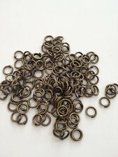 New! 1200 pcs Bronze Tone Open Jump Rings 5mm Jewelry Item #24B