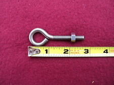 10  Stainless Steel Eye Bolt  1/4 x 2 5/8