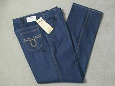 NEW VINTAGE DAKOTA MEN'S BLUE JEANS STRAIGHT LEG 100% COTTON 42W X 32L USA MADE