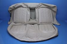 2006 JAGUAR X-TYPE 3.0L AWD#2 REAR SEAT UPPER LOWER CUSHION SKIN COVER BEIGE OEM