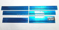 """6 PCS STAINLESS STEEL WINDOWS SILL TRIM DOORS """" VIP """" FOR TOYOTA COMMUTER HIACE"""