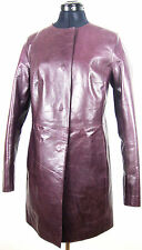 RENE LEZARD Ledermantel Leather Jacket Damen Lederjacke Gr.36 NEU mit ETIKETT