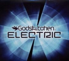 Godskitchen Electric (SEALED 3xCD) Tiesto Deadmau5 Swedish House Mafia Afrojack