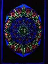 Visual Fallacy Blacklight Poster - Graphics West Velva-Touch Vintage Velvet