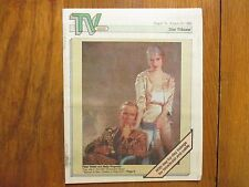 Aug. 19, 1990 Minneapolis Star Tribune TV Week Mag(MOLLY  RINGWALD/PETER WELLER)