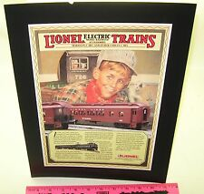 Lionel Madison cars and Inter-Urban cars Cardboard Sign