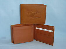 FORD MUSTANG    Leather BiFold Wallet    NEW    brown 4