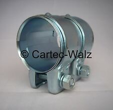 Conector Del Tubo De Escape / Conector de tubos / Abrazadera doble 56 x 95 mm