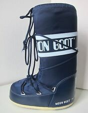 Tecnica Moon Boot nylon azul oscuro talla 31/34 Moon Boots Moonboots Blue