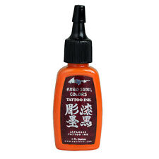 RISING SUN ORANGE Kuro Sumi Colors 1 oz Tattoo Ink 1oz
