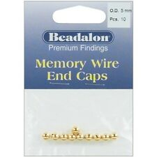Beadalon Memory Wire End Caps 5mm - 249581