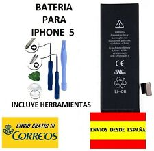 BATERIA INTERNA PARA IPHONE 5 5G CON ENVIO GRATIS Y HERRAMIENTAS Batería