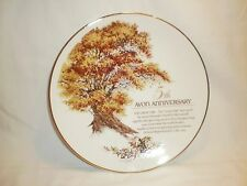 "Avon 5th Anniversary Collector Plate ""The Great Oak"""