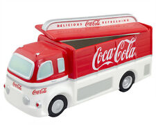 Coca-Cola Collectible Cookie Jar Delivery Truck Enesco 1999