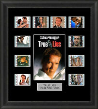 TRUE LIES FRAMED FILM CELL MEMORABILIA , ARNOLD SCHWARZENEGGER, FILM CELLS