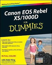 Canon EOS Rebel XS / 1000D For Dummies by King, Julie Adair