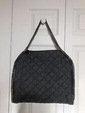 NWT Stella McCartney Quilted Denim Falabella Shoulder Bag Tote Handbag,MSRP$1335