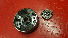 2002 Kawasaki ZX 900 R zx9r complete fly wheel and starter one way assembly