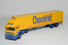 LION CAR DAF 1900 TRUCK WITH TRAILER CHOCOMEL NUTRICIA NEAR MINT CONDITION