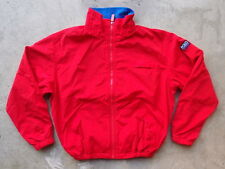 Vintage 90s Polo Sport Ralph Lauren Jacket Size L Red Coat Winter Hi-Tech Parka