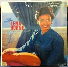 LENA HORNE songs by burke and van heusen LP Mint- LPM-1895 Mono 1959 Record