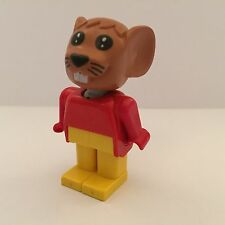 Lego Minifigura-Fabuland-Maximillian Mouse-Set 3781