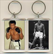 Muhammed Ali Keyring / Bag Tag 50mm x 35mm.